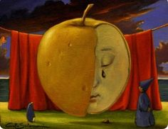 Carlo Salomoni | OIL | The Tears of the Big Apple
