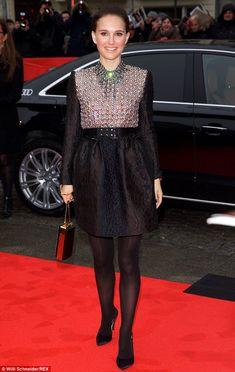 Natalie Portman in Lanvin Pre-Fall 2015 at the Berlin Film Festival on February 7, 2015