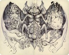James Jean's sketchbook