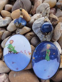 The Little Prince - Le Petit Prince earrings
