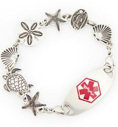 Sea Life Medical ID Bracelet