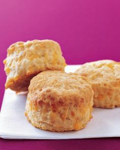 """See the """"Cheddar Biscuits"""" in our Easy Thanksgiving Bread, Biscuit, and Muffin Recipes gallery Cheddar Biscuits, Drop Biscuits, Buttermilk Biscuits, Blueberry Biscuits, Fluffy Biscuits, Cream Biscuits, Cheese Biscuits, Cheddar Cheese Biscuit Recipe, Jalapeno Cheddar"""