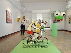 """Yves Dubeau, exposition """"Happy Art"""" au musée des Beaux-Arts de Pau"""
