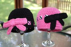Crochet Zebra stripe beanie with large bow. by TracyplusCrochet, $14.00