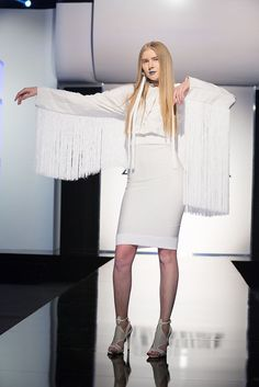 Project Runway Season 15 Ep. 3 Transitions Fashion Show Outfit oakland, caBy Dexter Simmons