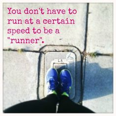 Tish reminds us that we're not all a 6-minute pacer and that's okay! #running #run #motivation #truth