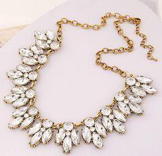 Étoiles bijoux vente 2015 l arrivée de nouveaux bijoux Vintage cristal  fleur sautoirs collier colliers 5d639c8c2541