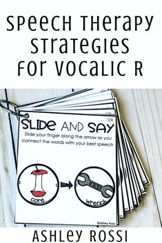 Easily shape vocalic R with these strategies and activities for articulation in speech therapy.