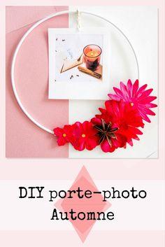 DIY automne : créer un porte-photo automnal. DIY for Fall