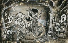 Mauvais voisinage - signé 11 X 17 art print par Shawn Dickinson