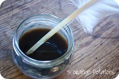 homemade herbal ink