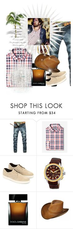 """""""Untitled #6407"""" by princhelle-mack ❤ liked on Polyvore featuring Express, Tod's, Porsamo Bleu, Dolce&Gabbana, men's fashion and menswear"""