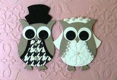 stampin up owl punch ideas   seriously how adorable are these two