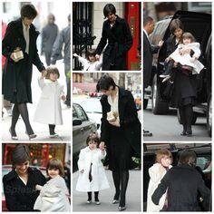 Hair - moda - look - style - estilo - inspiration - inspiração - fashion - elegant - elegante - chic - black - preto - coat - casaco - Best & Co - White - branco - plaid dress - vestido xadrez - Janie & Jack - Silver Shoes - Bonpoint - sapato prata - pantyhose - meia calça - Tights - kid - child - criança - niña - menina - girl - Princess - princesa - baby - bebê - daughter - filha - hija - mother - mãe - madre - mom - mamãe - mamá - December - 2008 - Katie Holmes - Suri Cruise