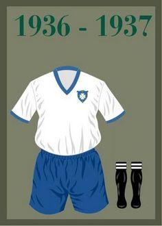Uniforme da Seleção Brasileira de futebol de 1936 - 1937 #copadomundo #Brazil2014 #copade2014 #