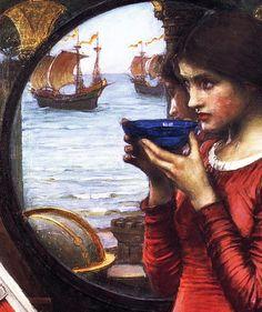 John William Waterhouse (detail)