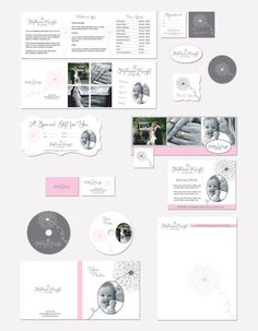 Photography marketing set and business forms by AquariusLogos, $58.00