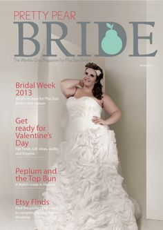 world' only magazine for plus size brides