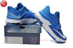 Buy Nike KD 7(VII) Blue Hyper Blue Royal White KD009439 Mens KB65Z0