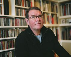 Vaughan Oliver, designer extrodinaire, responsible for much of the 4AD record label packaging of the 80s and 90s.