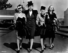 fabulous 1940's fashions