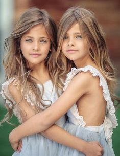 Clements twins Ava Marie and Leah Rose