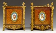 A Very Fine Pair Of Sevres Style Jardinieres