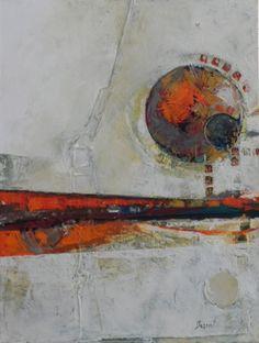 oil abstract by Nancy Bossert