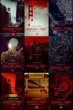 MURDER IN THE FIRST POSTERS CONCEPTS on Behance