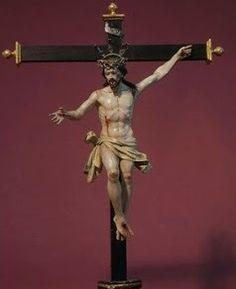 Cristo de La Vega. Anónimo castellano de primera mitad del siglo XVIII