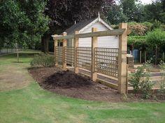 Fencing Trellis for garden design.
