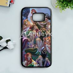 NeverlandS Mermaid Lagoon Samsung Galaxy S7 Edge Case | armeyla.com