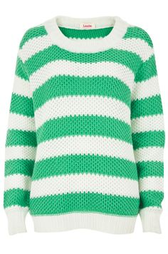 Cute striped green and white knit from Louche