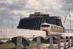 Walt Disney World Construction | ... Contemporary Resort Hotel – Walt Disney World's Resort Loop Hotels