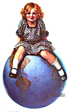 My Puzzles - Children - Vintage - Top of the World 1915