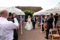 External photographs at The Old Kent Barn Wedding Ceremony Decorations, Wedding Venues, Wedding Day, South East England, Photographs, Barn, Wedding Photography, Popular, Bride