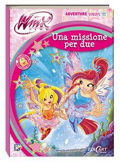 """¡¡Nuevo libro Winx Club """"Una missione per due"""" en Italia!! http://poderdewinxclub.blogspot.com.ar/2013/12/nuevo-libro-winx-club-una-missione-per.html"""