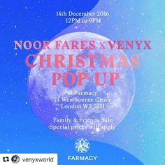 Dont miss it 😜 #venyxworld #noorfares #jewelrydesigner #jewelry #london #westbournegrove #farmacywestbournegrove #akraboutique
