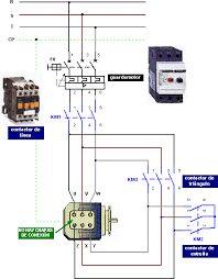 Resultado de imagen para esquemas electricos de motores trifasicos