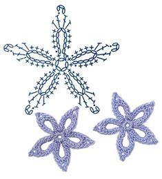 No.12 Laurentia Crochet Flower Motifs / 로렌시아 코바늘 플라워 모티브도안