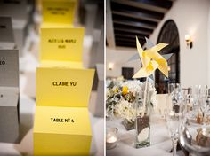 Gorgeous Yellow + Gray Wedding in Toluca Lake, CA | Images by Viera Photographics