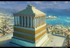 Seven Wonders Of The World: Mausoleum at Halicarnassus