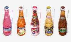 Bottled Food: a series showing us that processed food really is disgusting