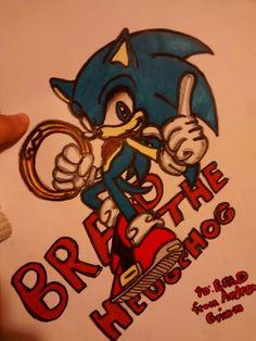 Brad the hedgehog