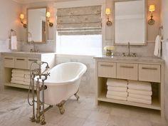 A Claw-Foot Bathtub | HGTV >> http://www.hgtv.com/design-blog/design/treat-yo--self-day--our-editors-share-their-dream-splurges?soc=pinterest