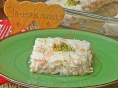 Aslan Sütü Tatlısı Tarifi Food Design, Paleo Waffles, Turkish Recipes, Homemade Beauty Products, Dessert Recipes, Desserts, Food Illustrations, Tart, Food And Drink