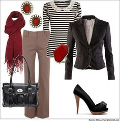 Business casuals for women!