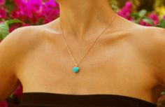 Hey, I found this really awesome Etsy listing at https://www.etsy.com/listing/100380581/turquoise-necklace-gold-necklace-heart... for Kristin?