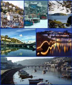 Looe (Cornish: Logh, meaning deep water inlet) is a small coastal town, fishing port and civil parish in the former Caradon district of south-east Cornwall, with a population of 5,280 (2001 census). Looe is divided in two by the River Looe, East Looe (Cornish: Logh) and West Looe (Cornish: Porthbyhan, meaning little cove) being connected by a bridge. The town is approximately 20 miles (32 km) west of the city of Plymouth and seven miles (11 km) south of Liskeard. The town is situated around…