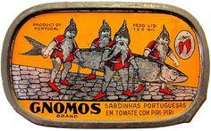 sardinhas gnomos